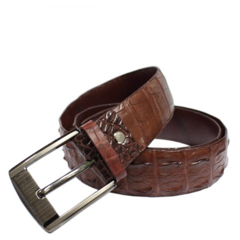 Crocodile Leather Belt S610b