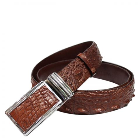 Crocodile Leather Belt S602b