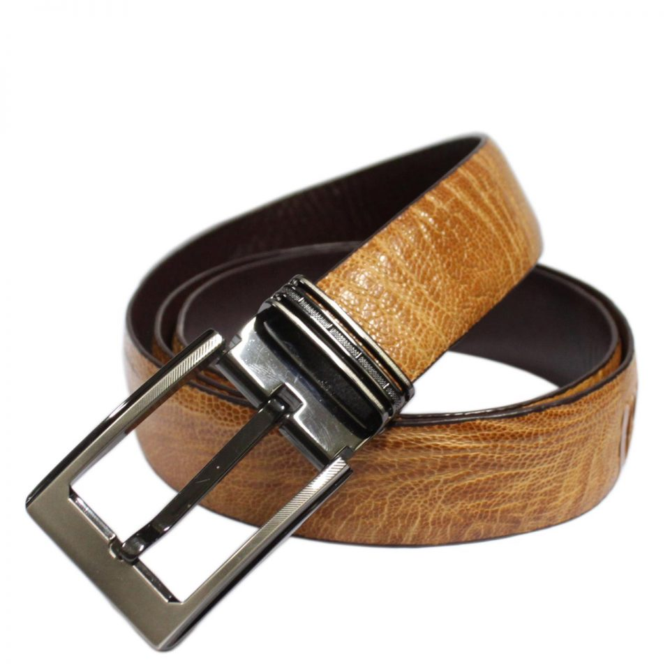 Ostrich Leather Belt E601a