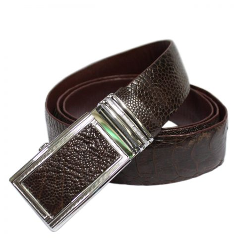 Ostrich Leather Belt E601c