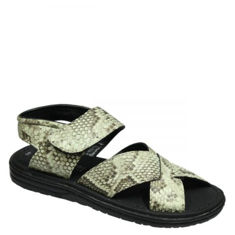 Python Leather Slipper T803