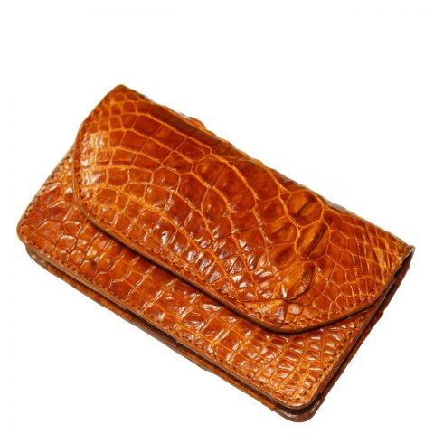 Crocodile leather Iphone 5/5s/SE case S1001a