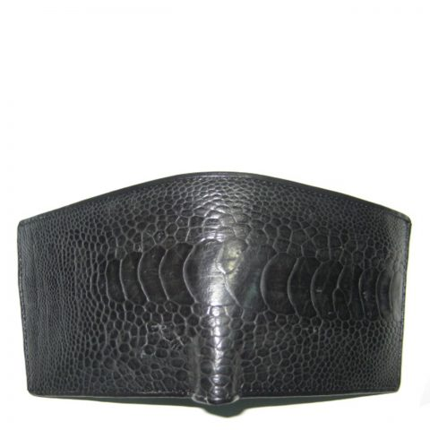 Ostrich Leather Wallet E401b