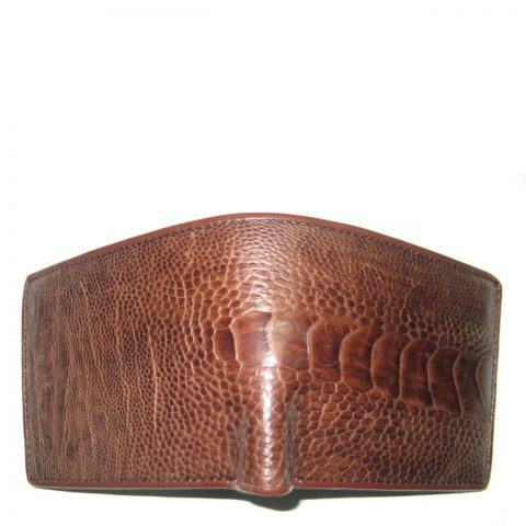 Ostrich Leather Wallet E401c