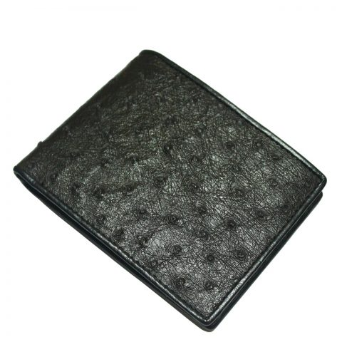 Ostrich Leather Wallet E403a