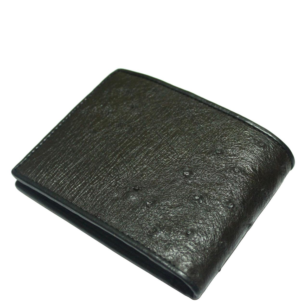 Ostrich Leather Wallet E403a