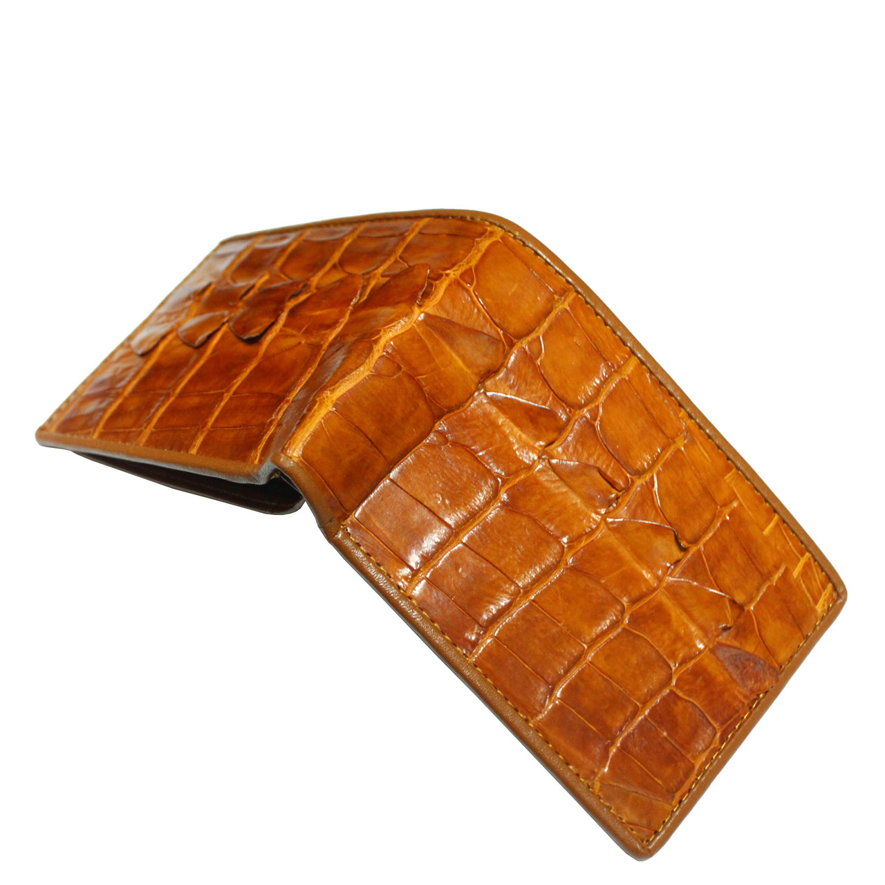 Crocodile leather wallet S405a