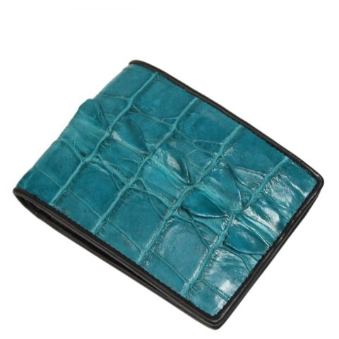 Crocodile leather wallet S405c