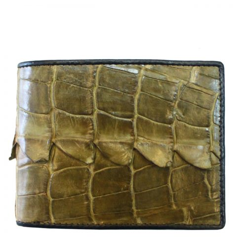 Crocodile leather wallet S405d