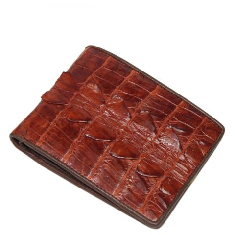 Crocodile leather wallet S406a