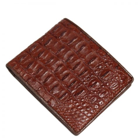 Crocodile leather wallet S411b