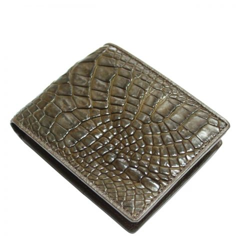 Crocodile leather wallet S412b