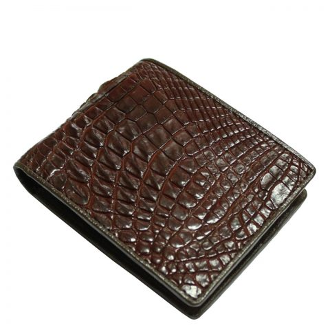 Crocodile leather wallet S412c