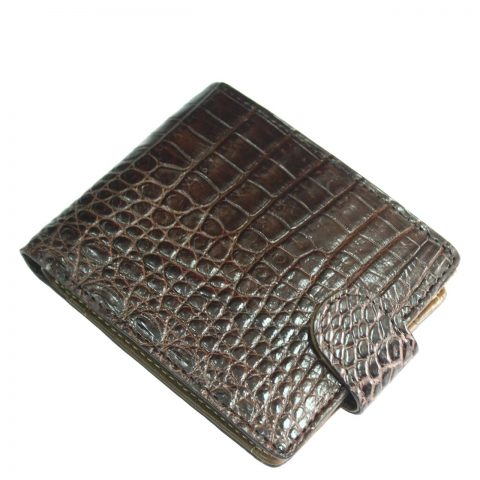 Crocodile leather wallet S414a