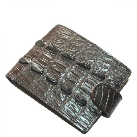 Crocodile leather wallet S415a