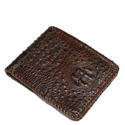 Crocodile leather wallet S424a