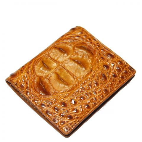 Crocodile leather wallet S429a