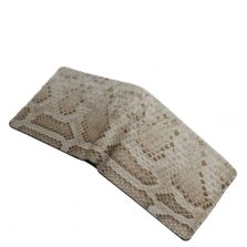 Python Leather Wallet T402a