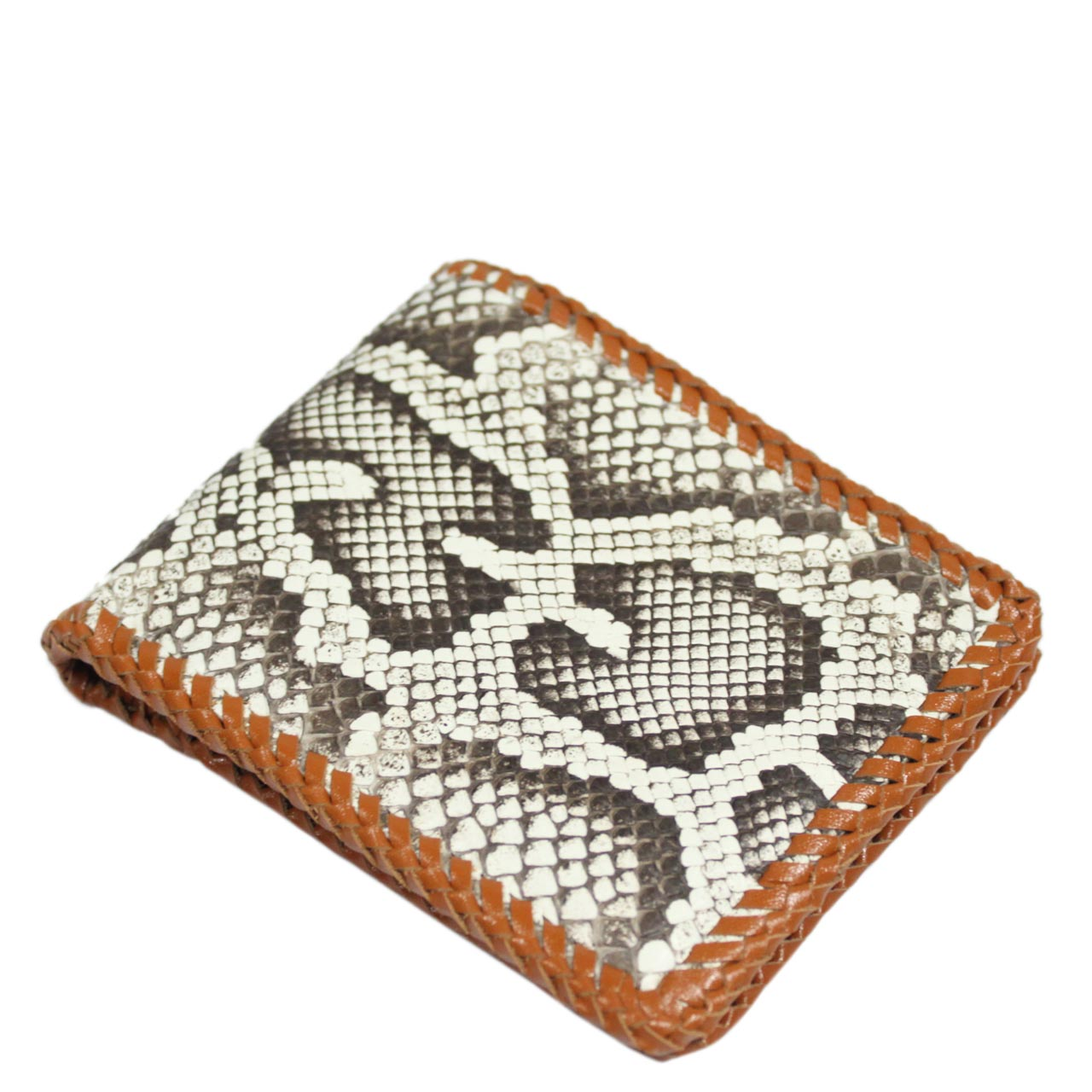 Python Leather Wallet T404a