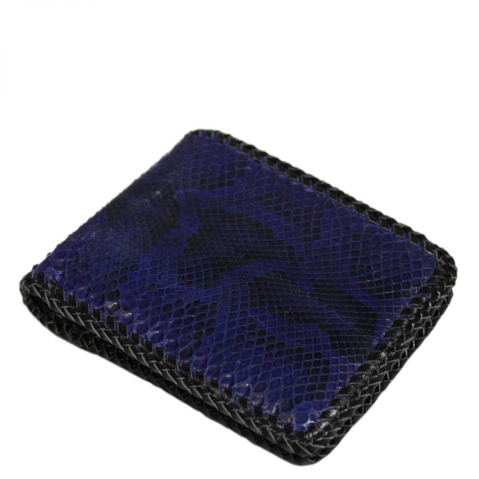 Python Leather Wallet T404c
