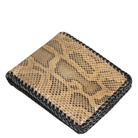 Python Leather Wallet T404d