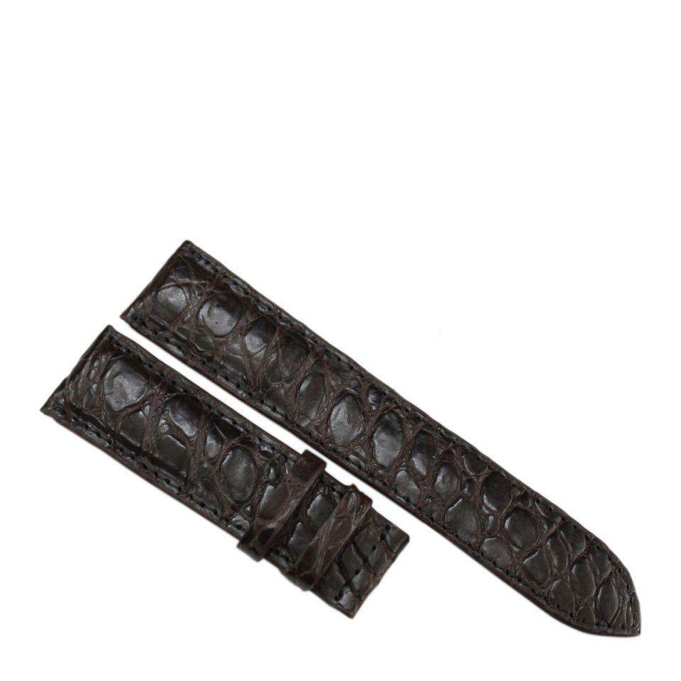 Dây đồng hồ da cá sấu S902a