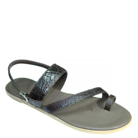 Crocodile Leather Slippers S703a