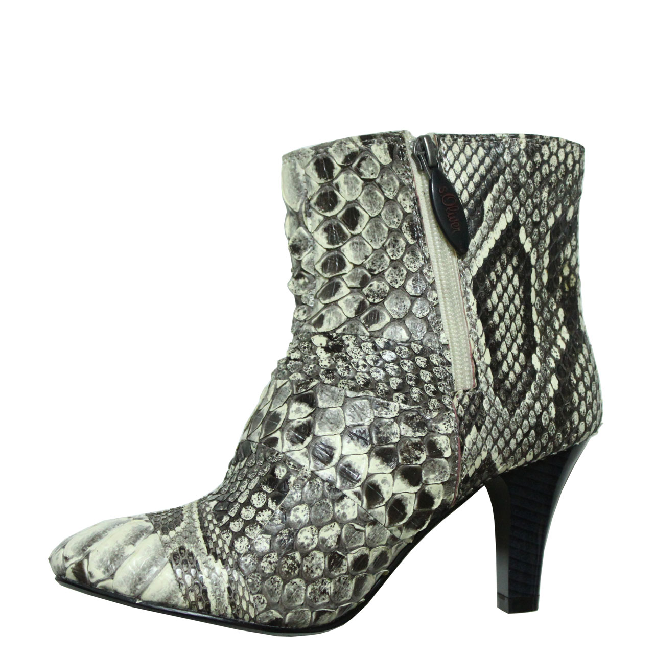 Python Leather Boot T731a