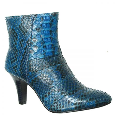 Python Leather Boot T731b