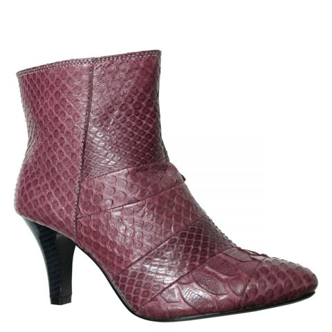 Python Leather Boot T731c