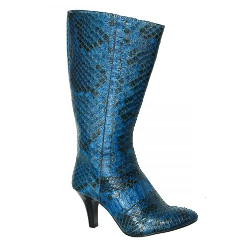 Python Leather Boot T732b