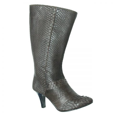 Python Leather Boot T732e