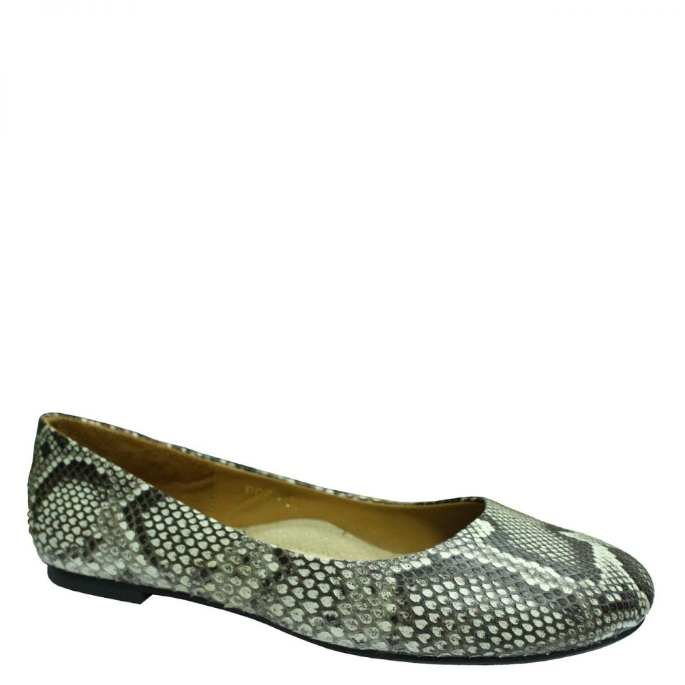 Python Leather Doll Shoes T761