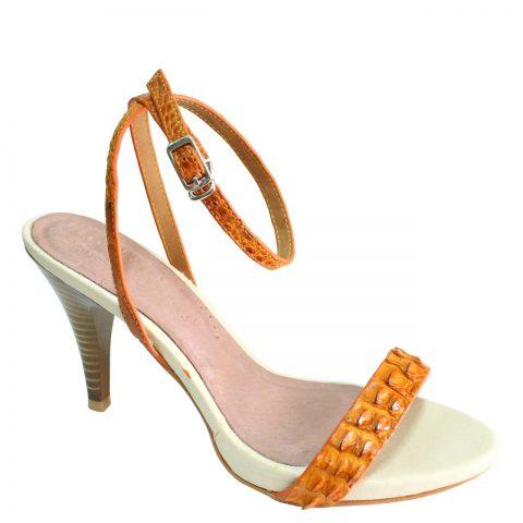 Crocodile Leather High Heels S772a