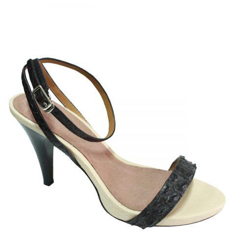 Crocodile Leather High Heels S772b