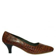 Giày cao gót da cá sấu S774a