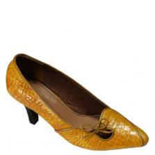 Giày cao gót da cá sấu S775a