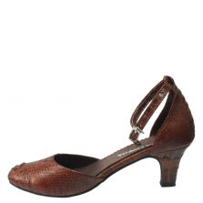 Giày cao gót da cá sấu S776