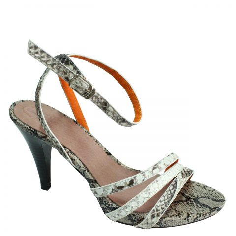 Python Leather High Heels T772