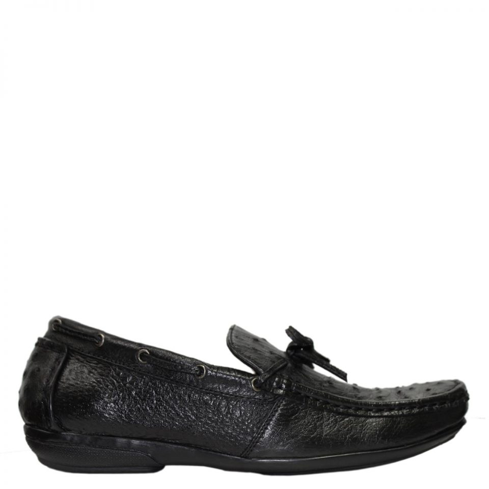 Giày Lười Nam Da Đà Điểu E861a