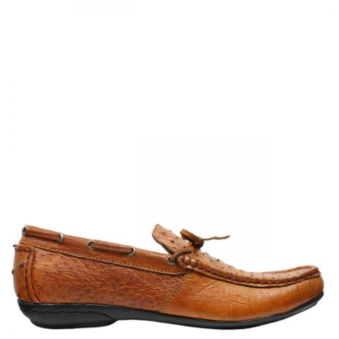 Ostrich Leather Shoes E861c