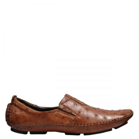 Ostrich Leather Shoes E862a