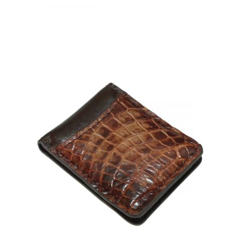 Crocodile Leather Money Clip S941a
