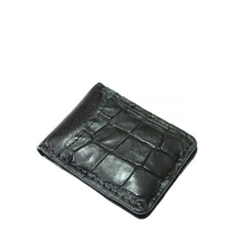 Crocodile Leather Money Clip S941d