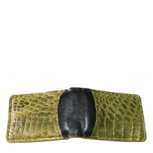 Crocodile Leather Money Clip S941g