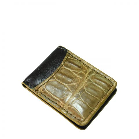 Crocodile Leather Money Clip S941h