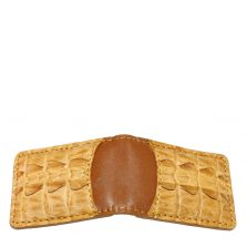 Crocodile Leather Money Clip S942a