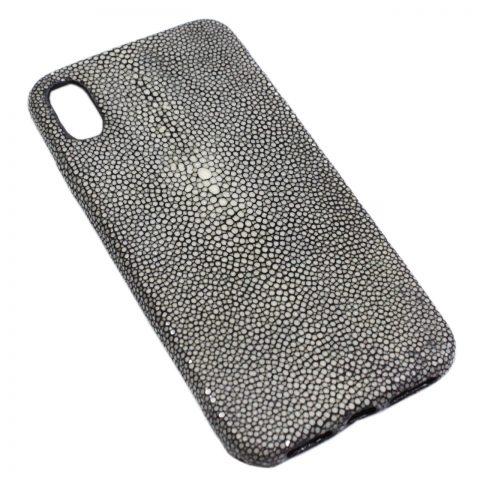 Ốp lưng iPhone Xs Max da cá đuối D1061a