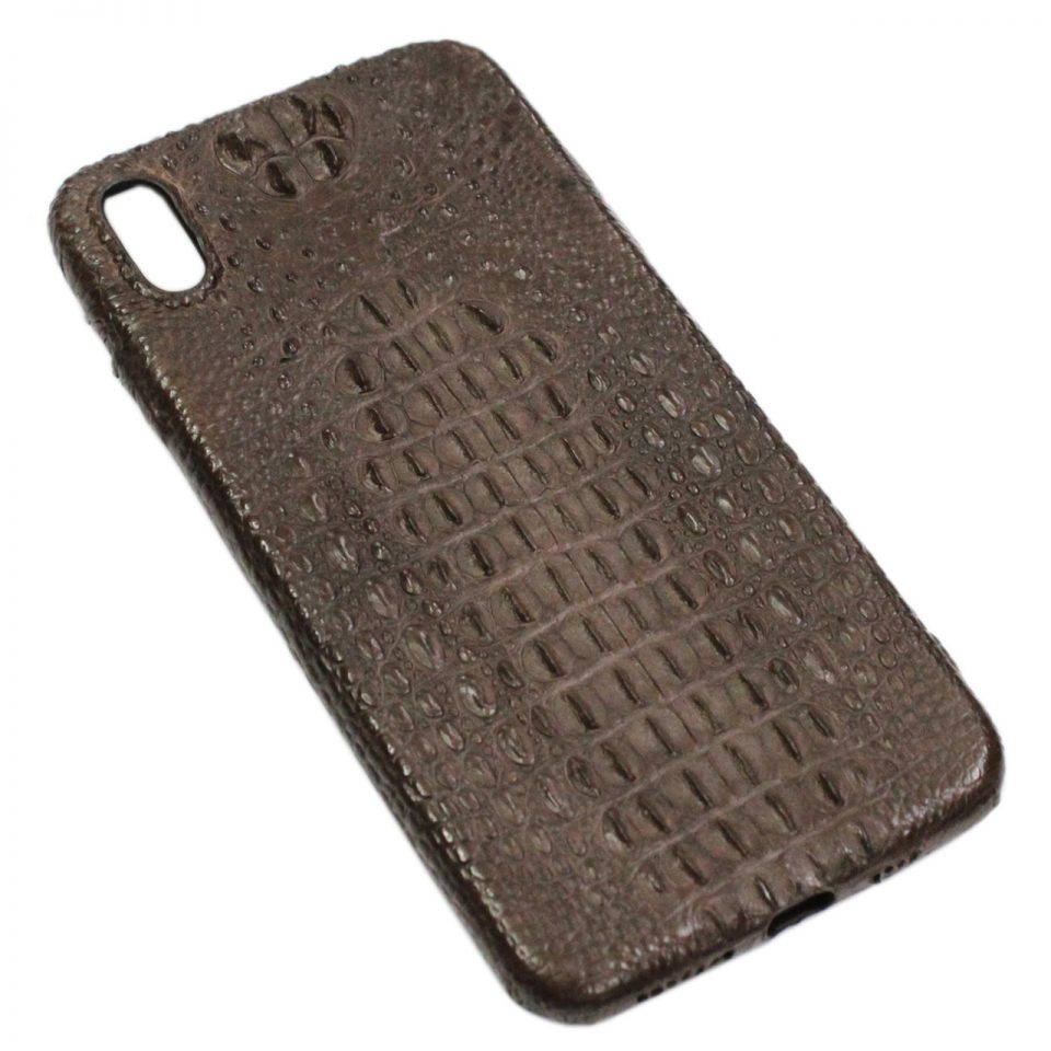 Ốp lưng iPhone Xs Max da cá sấu S1066a
