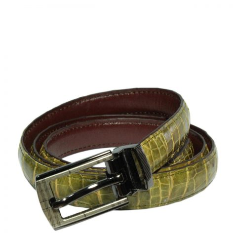 Crocodile Leather Belt S502a
